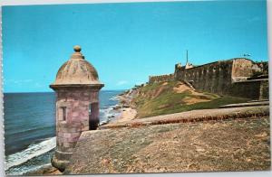 North Wall of San Juan and Castillo San Cristobal