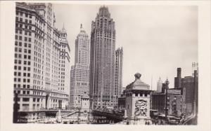 Tribune Tower With Medinah Athletic Club And Wrigeley On Left Chicago Illinois