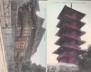 Laeken Tower Netherlands Japanese 1910 2x Postcard s