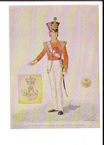 43rd Regiment of Foot Military Uniform, Toronto, Fort York, Ontario,