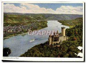 Modern Postcard The Castle Stolzenfels on the Rhine