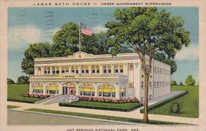 Lamar Bath House Under Government Supervision Hot Springs National Park Arkan...