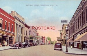 SUFFOLK STREET, IRONWOOD, MICH.