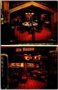 1950s MINNEAPOLIS MN Postcard Hans Skalle's CAMELOT Restaurant of Distinction