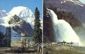 Canada Jasper Mount Robson & Emperor Falls