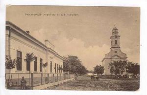 Bessenyotelki nepiskola es r. k. templom, Hungary,00-10s