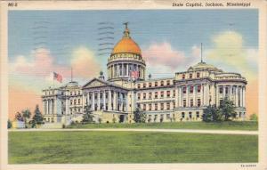 State Capitol, Jackson, Mississippi, PU-1942