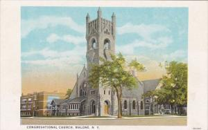 New York Malone Congregational Church Curteich