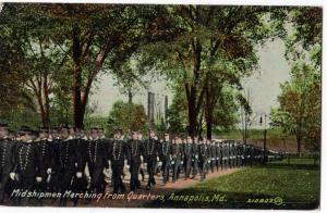 Midshipmen Marching, Annapolis MD