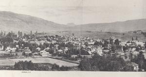 RP: VERNON , B.C. , Canada , 1910 ; Panorama View