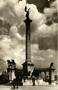CPA Budapest- Milleniumi emlekmu HUNGARY (835574)