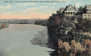CHATTANOOGA, Tennessee, 1900-1910's; Bluff View, East From Tennessee River
