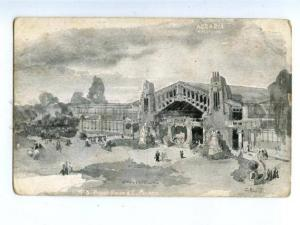158182 Pavilion AGRARIA Arch Bongi by Palanti MILANO 1906 Expo