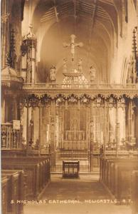 Newcastle S. Nicholas Cathedral Interior Cattedrale Dom