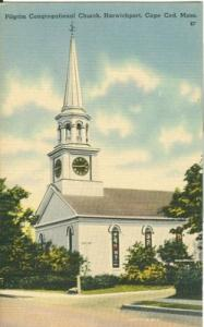 Pilgrim Congregational Church, Harwichport, Cape Cod, Mas...