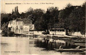 CPA SAMOIS-sur-SEINE - Les Bords de la SEINE - L'Hotel Beau-Rivage (292798)