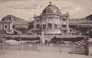 France Royan Le Casino Municipal et les nouveaux Jardin 1936