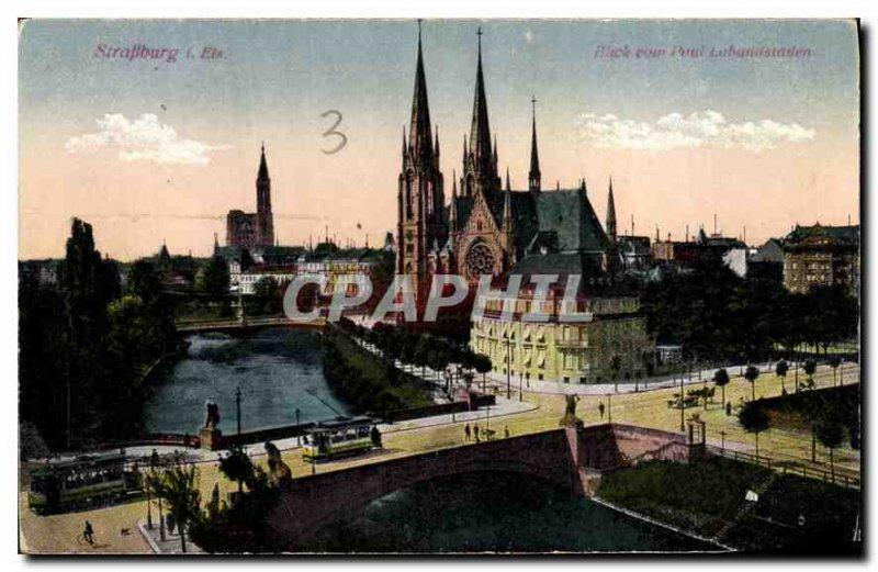 Old Postcard Strassburg