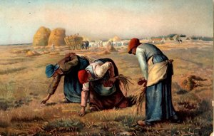 France - The Gleaners collecting Millet - c1908