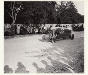 French Grand Prix F1 De Bonville 1912 Motor Racing Race Postcard