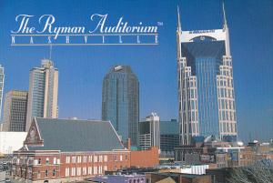 Tennessee Nashville The Ryman Auditorium