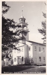 RP; NEW LONDON, New Hampshire, 30s-50s ; Baptist Church