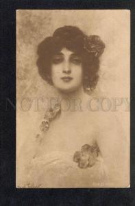 034672 Lovely BELLE Lady in Poppy by TILLIER vintage