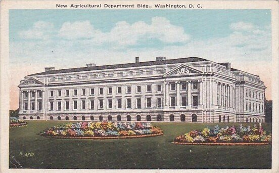 New Agricultral Department Building  Washington D C