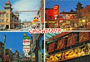 CHICAGO ILLINOIS~CHINATOWN~LOT OF 2 POSTCARDS