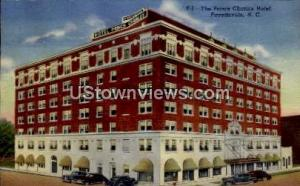 The Prince Charles Hotel Fayetteville NC 1948