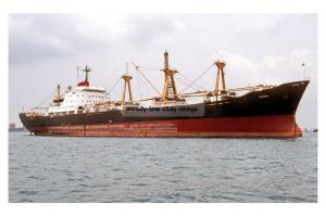 mc4208 - Singapore Cargo Ship - Kota Molek , built 1971 - photo 6x4