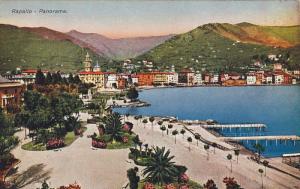 Panorama, Piers, RAPALLO (Liguria), Italy, 1900-1910s