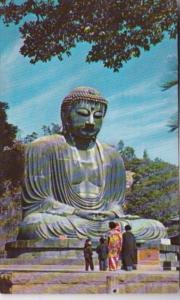 Buddha At Kamakura Kanagawa Prefecture Japan 1955