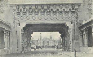 Postcard exhibitions Entrance to Court of Progress Franco-British Exhibition