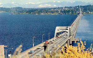 WA - Seattle,  Floating Bridge