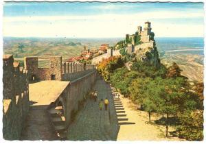 Repubblica di S. Marino, Panorama, unused Postcard