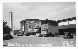 G38/ Osceola Nebraska RPPC Postcard c1940s East Side Square Hardware Store