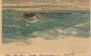 Mann uber Bord , 1918