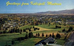 Greetings Kalispell MT Unused