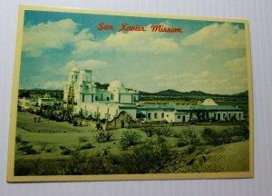 Vintage Postcard San Xavier Del Bac mission Tucson Arizona 1985 unposted