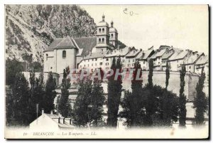Old Postcard Briancon Les Remparts