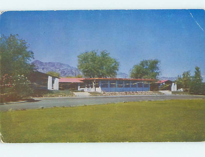 Unused Pre-1980 LODGE SCENE Boulder City Nevada NV J6950