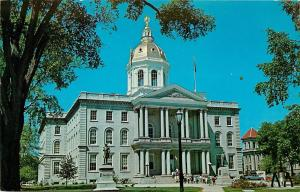 State House Concord NH New Hampshire Postcard