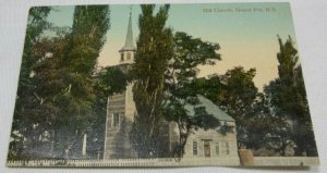 Old Church, Grand Pre, N. S Vintage Collectible Postcard Unposted 1907-1914