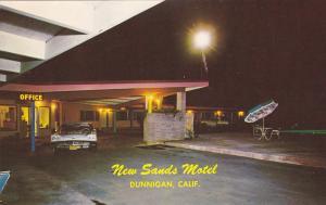 New Sands Motel , DUNNIGAN , California, 50-60s