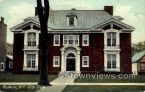 City Club Auburn NY Unused