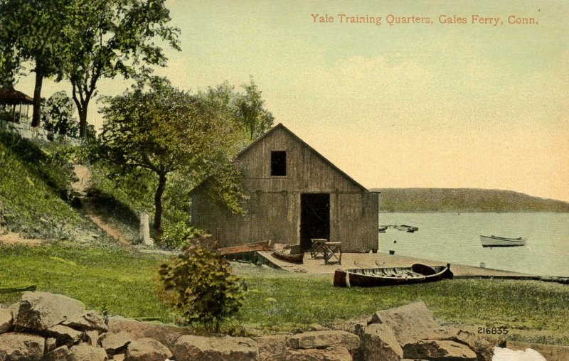 CT - Gale's Ferry.  Yale Training Quarters