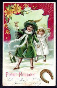 New Year,Children,Horseshoe