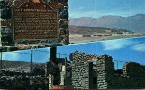 California Death Valley Old Harmony Borax Works Marker