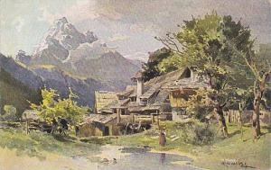 AS: Rural house at mountain side, 00-10s
